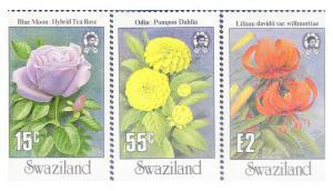 SWAZILAND 523,5-6 MNH VF  Flowers