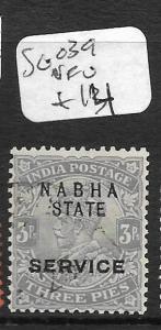 INDIA NABHA (P2609B)  KGV 3P SERVIICE SG O39  VFU