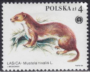 Poland 2650 Protected Animals 1984