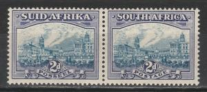 SOUTH AFRICA 1933 UNION BUILDINGS 2D BLUE & VIOLET MNH **