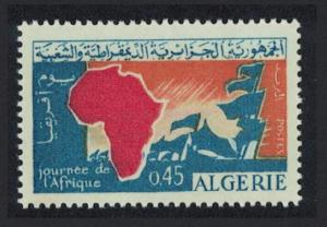 Algeria 1st Anniversary of Africa Day and African Unity Charter 1v SG#422