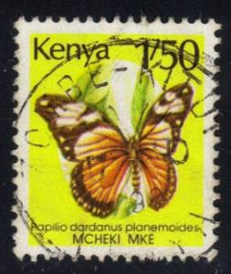 Kenya #430A Butterfly; Used at Wholesale