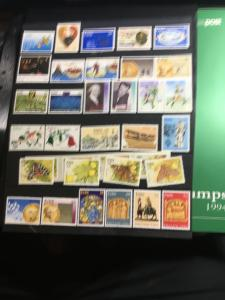 Ireland 1994 Stamp Issues in Post Office Folder Over 30 Diff.VF-NH2015Sc.$56.55