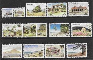 Nevis 821-34  1981 set 14  VF  NH