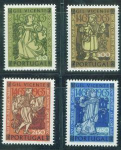 PORTUGAL Scott 964-967 MNH** 1965 Gil Vicente set CV$4.90