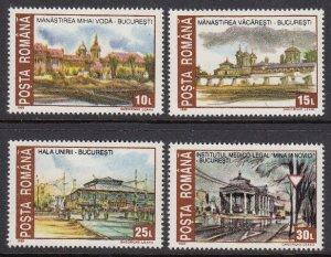 Romania 3799-3802 mnh