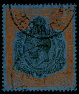 BERMUDA GV SG89h, 2s 6d grey-black & pale orange-vermilion/grey-blue, USED.