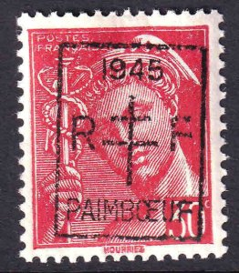 FRANCE 361 LOCAL PAIMBOEUF LIBERATION OVERPRINT OG NH U/M F/VF