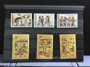 St Lucia Cultural  mint never hinged   stamps R31800