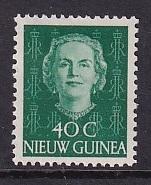 Netherlands New Guinea   #14  MH 1950  Juliana  40c