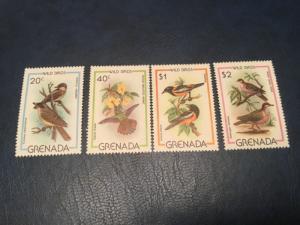 Grenada #985-988 XF NH Free Shipping (Bk1-34) birds