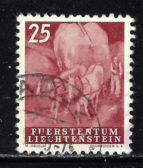 Liechtenstein 251 Used 1951 Issue