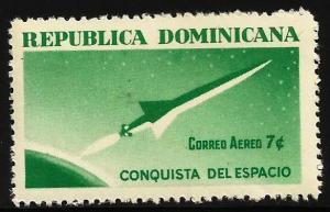 Dominican Republic Air Mail 1964 Scott# C135 MNH