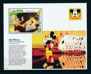 [23286] St. Vincent 1992 Disney Movie Thru the mirror MNH