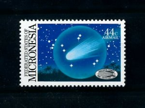 [102295] Micronesia 1986 Space travel weltraum Halley comet From set MNH