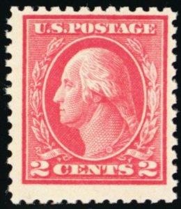 500, Mint NH F/VF Rare Stamp With PFC Certificate CV $550.00 - Stuart Katz