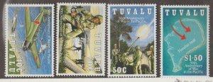 Tuvalu Scott #633-636 Stamps - Mint NH Set