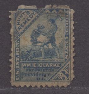 **US Match & Medicine Revenue Stamp SC# Rs56, CV $350.00