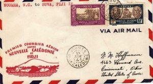 1941, 1st Flt. Noumea, New Caledonia to Suva, Fiji, See Remark (32596)