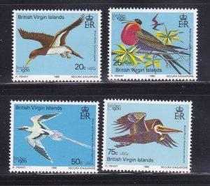 Virgin Islands 385-388 Set MNH Birds