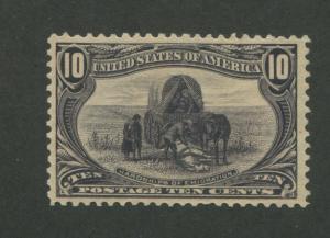 1898 United States Postage Stamp #290 Mint No Gum VF