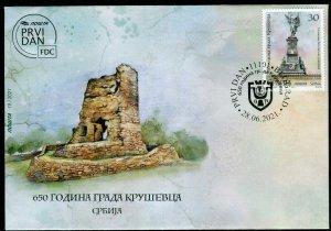 1637 - SERBIA 2021 - 650 Years of the City of Krusevac - FDC