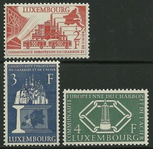 Luxembourg - Scott 315-17 VF MNH