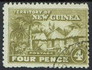 NEW GUINEA 1925 HUT 4D USED