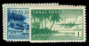 CANAL ZONE C15-20  Mint (ID # 72018)