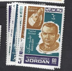 JORDAN  (P2809BB)  SPACE  SG 764-9   MNH