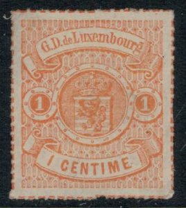 Luxembourg #18* no gum  CV $40.00