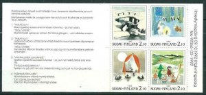 Finland 1992 #901a MNH. Moomin, expo, booklet