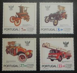Portugal 1516-19. 1981 Automobiles, Fire Engine