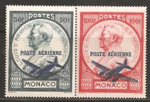 Monaco SC C8-9 Mint, Never Hinged