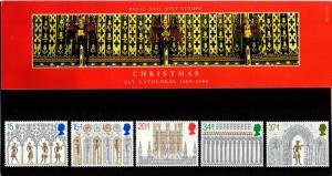 STAMP STATION PERTH Great Britain # Christmas 89 Presentation Pack 203 MNH