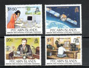 Pitcairn #432-435 MNH
