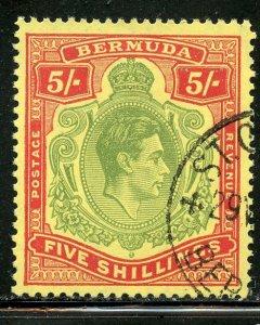 Bermuda # 125, Used. CV $ 15.00