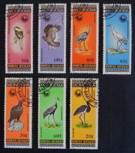 Birds, Мongolia (2314-T)