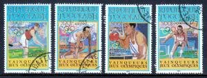TOGO — SCOTT C494-C497 — 1984 OLYMPICS SET — USED/CTO — SCV $14.00