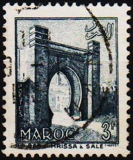 Morocco(French). 1955 3f  S.G.451 Fine Used