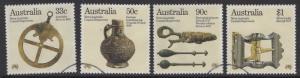 AUSTRALIA SG993/6 1985 BICENT OF AUSTRALIAN SETTLEMENT FINE USED