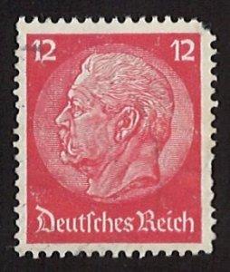1932 Paul von Hindenburg, Deutsche Reich, 15Pfg. MC #469 CV $30.30 (LL-107)