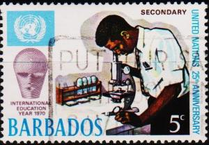Barbados. 1970 5c S.G.416 Fine Used