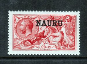 Naura #14b (SG #17) Extra Fine Never Hinged Gem *With Certificate*