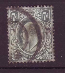 J19707 Jlstamps 1909-10 great britain used #145 king