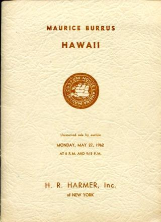 Auction - BURRUS Hawaii with 15 Missionaries, 5.27.1962