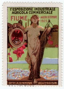 (I.B) Italy Cinderella : Industrial & Commercial Exposition (Fiume 1925)