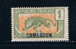 Cameroun 147 MLH Leopard overprint 1921 (C0213)+