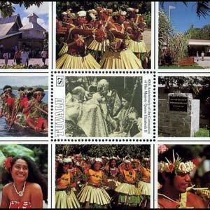 TUVALU 1993 - Scott# 646 S/S Coronation NH