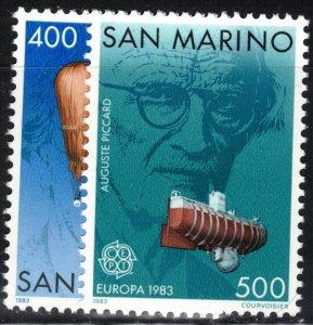 San Marino Scott #1049-50 MNH Europa 1983 Complete Set